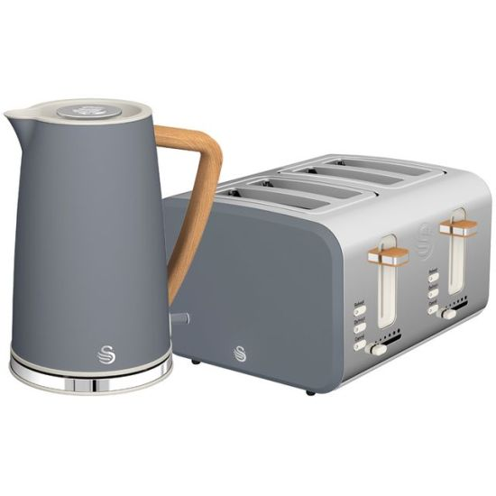 """Swan Nordic STP2091GRYN Kettle And Toaster Set - Grey AO Kettle And Toaster Set Swan Nordic STP2091GRYN Kettle And Toaster Set - Grey Shop The Very Best Small Appliance Deals Online at <a href=""""http://Appliance-Deals.com"""">Appliance-Deals.com</a> <a href=""""https://www.awin1.com/cread.php?awinmid=19526&awinaffid=792795&ued=https://ao.com""""><img class="""" wp-image-9780000159235 aligncenter"""" src=""""https://appliance-deals.com/wp-content/uploads/2021/02/ao-new.jpg"""" alt="""" Small Appliance Deals"""" width=""""112"""" height=""""112"""" /></a>"""