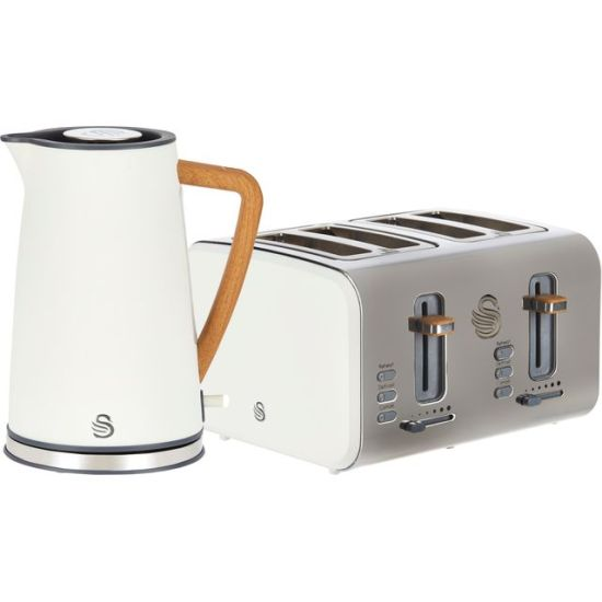 """Swan Nordic STP2091WHTN Kettle And Toaster Set - White AO Kettle And Toaster Set Swan Nordic STP2091WHTN Kettle And Toaster Set - White Shop The Very Best Small Appliance Deals Online at <a href=""""http://Appliance-Deals.com"""">Appliance-Deals.com</a> <a href=""""https://www.awin1.com/cread.php?awinmid=19526&awinaffid=792795&ued=https://ao.com""""><img class="""" wp-image-9780000159235 aligncenter"""" src=""""https://appliance-deals.com/wp-content/uploads/2021/02/ao-new.jpg"""" alt="""" Small Appliance Deals"""" width=""""112"""" height=""""112"""" /></a>"""