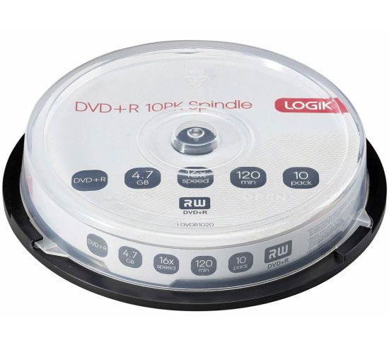 """LOGIK 16x Speed DVD Recordable DVDs - Pack of 10 Appliance Deals LOGIK 16x Speed DVD Recordable DVDs - Pack of 10 Shop & Save Today With The Best Appliance Deals Online at <a href=""""http://Appliance-Deals.com"""">Appliance-Deals.com</a>"""