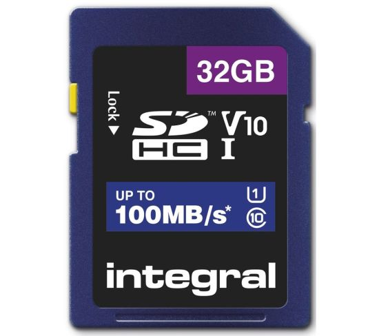 """INTEGRAL V10 Class 10 SD Memory Card - 32 GB Appliance Deals INTEGRAL V10 Class 10 SD Memory Card - 32 GB Shop & Save Today With The Best Appliance Deals Online at <a href=""""http://Appliance-Deals.com"""">Appliance-Deals.com</a>"""