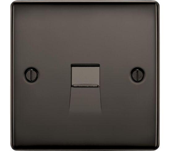 "BG ELECTRICAL Master NBNBTM1-01 Telephone Socket - Black Nickel, Black Appliance Deals BG ELECTRICAL Master NBNBTM1-01 Telephone Socket - Black Nickel, Black Shop & Save Today With The Best Appliance Deals Online at <a href=""http://Appliance-Deals.com"">Appliance-Deals.com</a>"