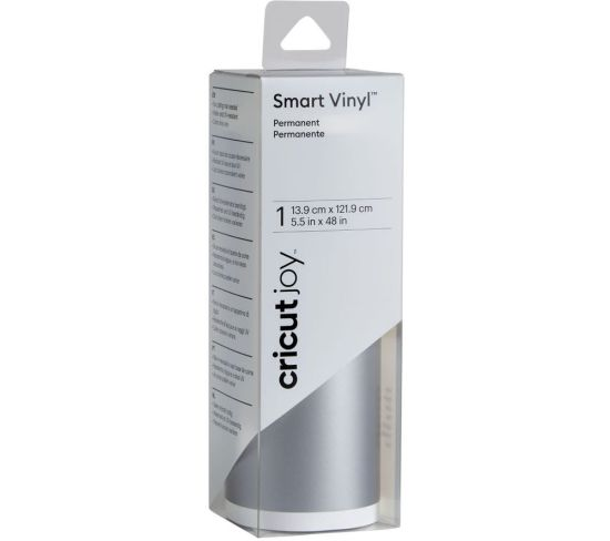 """CRICUT Joy Smart Permanent Vinyl - Silver, Silver Appliance Deals CRICUT Joy Smart Permanent Vinyl - Silver, Silver Shop & Save Today With The Best Appliance Deals Online at <a href=""""http://Appliance-Deals.com"""">Appliance-Deals.com</a>"""
