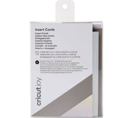 """CRICUT Joy Insert Cards - Silver Holographic & Grey, Silver Appliance Deals CRICUT Joy Insert Cards - Silver Holographic & Grey, Silver Shop & Save Today With The Best Appliance Deals Online at <a href=""""http://Appliance-Deals.com"""">Appliance-Deals.com</a>"""