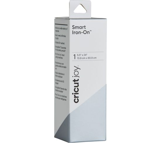"""CRICUT Joy Smart Iron-On Material - Silver, Silver Appliance Deals CRICUT Joy Smart Iron-On Material - Silver, Silver Shop & Save Today With The Best Appliance Deals Online at <a href=""""http://Appliance-Deals.com"""">Appliance-Deals.com</a>"""