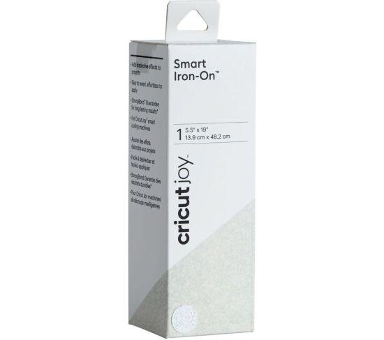 """CRICUT Joy Smart Iron-On Material - Glitter White, White Appliance Deals CRICUT Joy Smart Iron-On Material - Glitter White, White Shop & Save Today With The Best Appliance Deals Online at <a href=""""http://Appliance-Deals.com"""">Appliance-Deals.com</a>"""