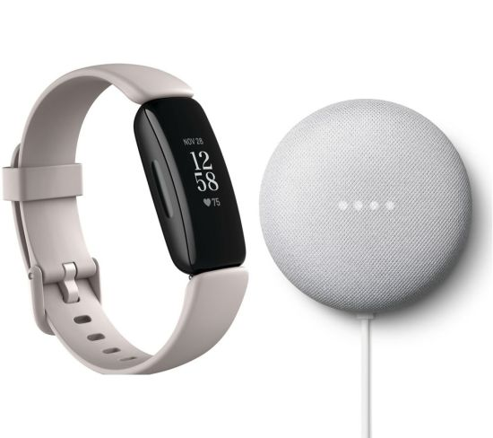 """FITBIT Inspire 2 & Nest Mini (2nd Gen) Bundle - Lunar White & Chalk, White FITBIT Inspire 2 & Nest Mini (2nd Gen) Bundle - Lunar White & Chalk, White Shop The Very Best FitBit Sale Deals Online at <a href=""""http://Appliance-Deals.com"""">Appliance-Deals.com</a> <a href=""""https://www.awin1.com/cread.php?awinmid=1599&awinaffid=792795&ued=https%3A%2F%2Fcurrys.co.uk""""><img class="""" wp-image-9780000159235 aligncenter"""" src=""""https://appliance-deals.com/wp-content/uploads/2021/03/curryspcworld_500x500_thumb.png"""" alt=""""fitbit Appliance Deals"""" width=""""112"""" height=""""112"""" /></a>"""
