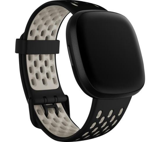 """FITBIT Sense & Versa 3 Sports Band - Black & White, Large, Black FITBIT Sense & Versa 3 Sports Band - Black & White, Large, Black Shop The Very Best FitBit Sale Deals Online at <a href=""""http://Appliance-Deals.com"""">Appliance-Deals.com</a> <a href=""""https://www.awin1.com/cread.php?awinmid=1599&awinaffid=792795&ued=https%3A%2F%2Fcurrys.co.uk""""><img class="""" wp-image-9780000159235 aligncenter"""" src=""""https://appliance-deals.com/wp-content/uploads/2021/03/curryspcworld_500x500_thumb.png"""" alt=""""fitbit Appliance Deals"""" width=""""112"""" height=""""112"""" /></a>"""
