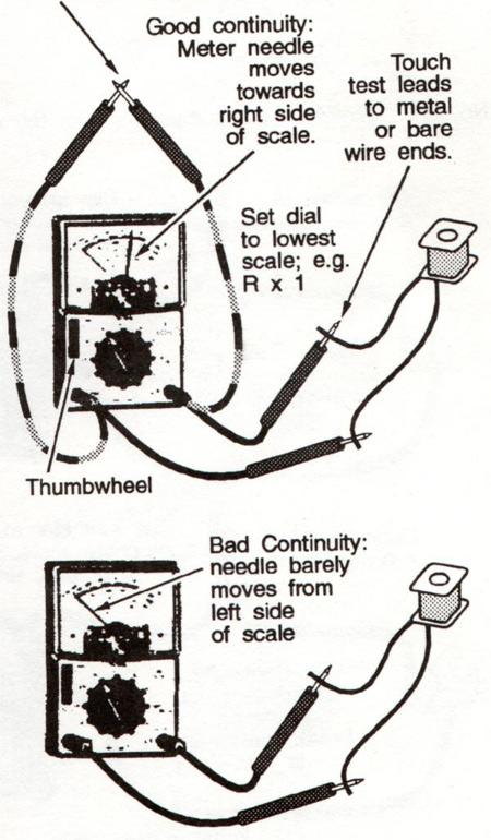 ohm meter wiring diagram