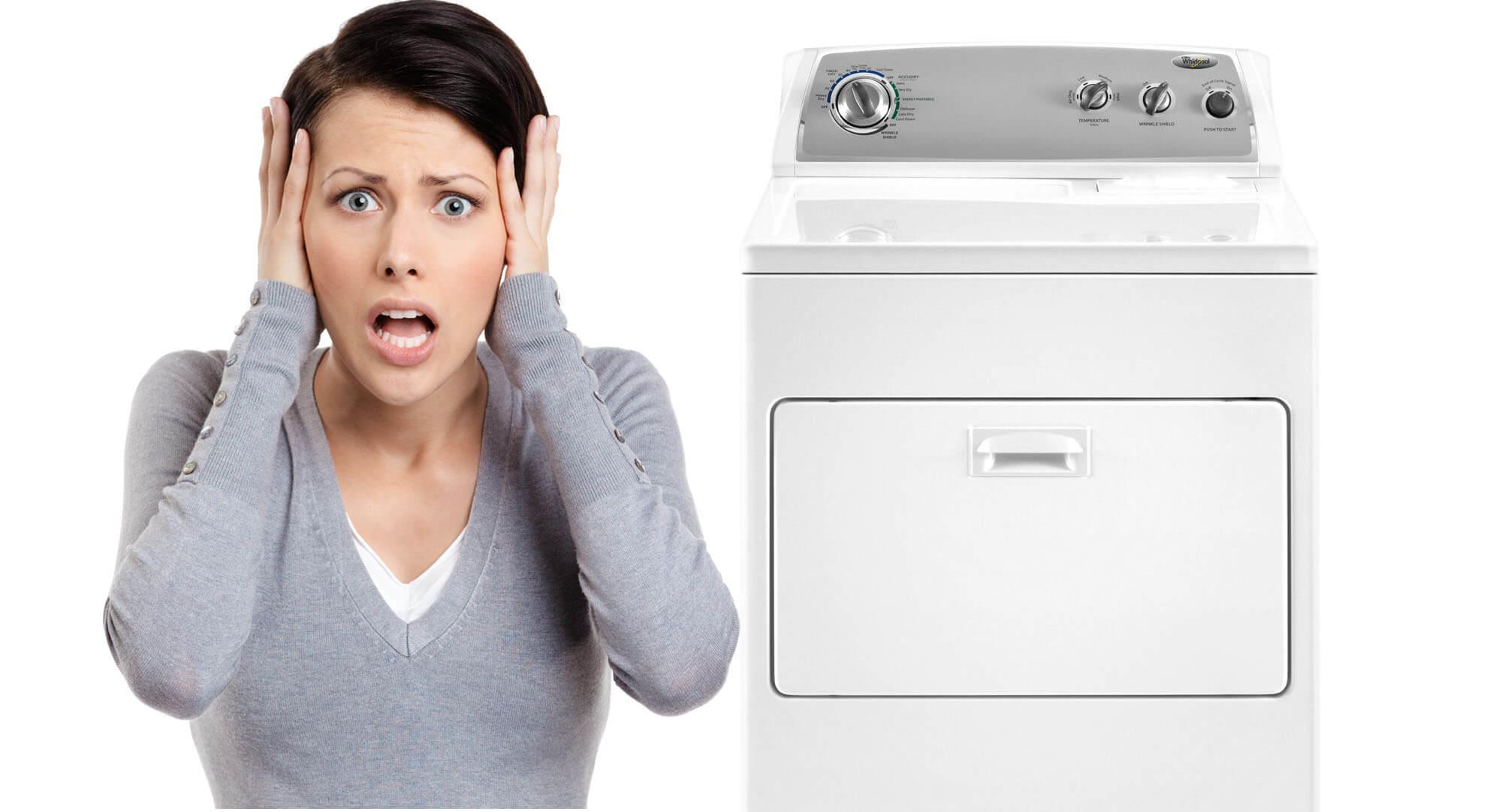 hight resolution of dryer problem sounds