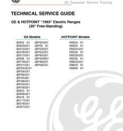 ge hotpoint electric range service manual [ 791 x 1024 Pixel ]