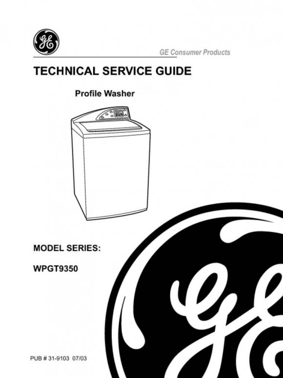 Frigidaire Affinity Front Load Washer Repair Manual