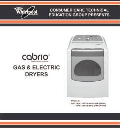 whirlpool cabrio dryer service manual [ 791 x 1024 Pixel ]