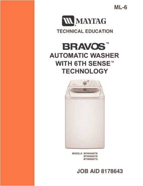 small resolution of maytag bravos washer service manual download