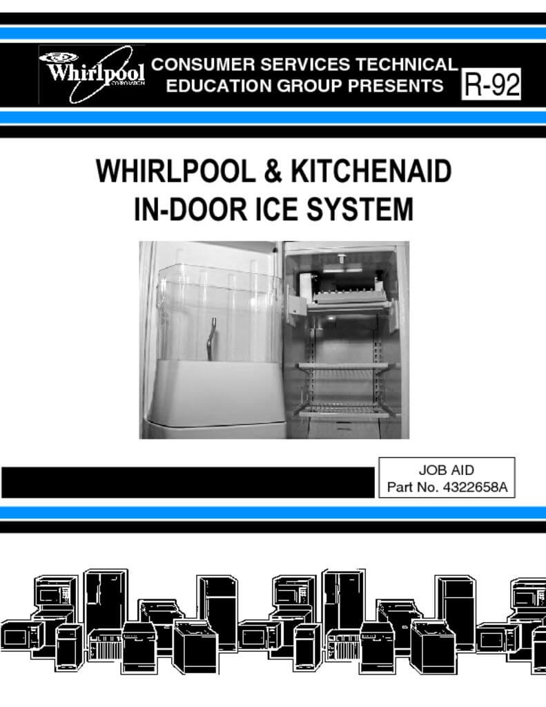 kitchen aid dishwasher reviews makeovers ideas whirlpool in-door ice system service manual ...