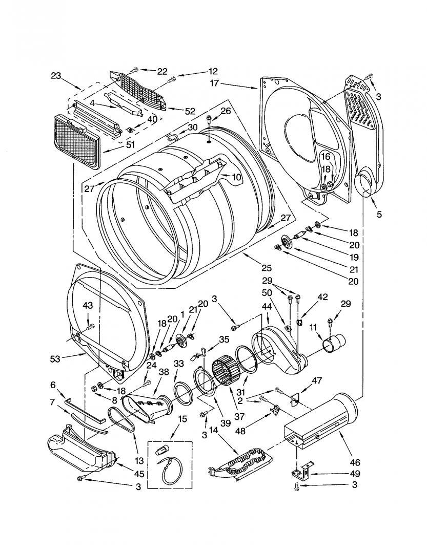 Kenmore Stack Washer Dryer Parts : kenmore, stack, washer, dryer, parts, Kenmore, Washer+Dryer,, Dryer, Working, Applianceblog, Repair, Forums