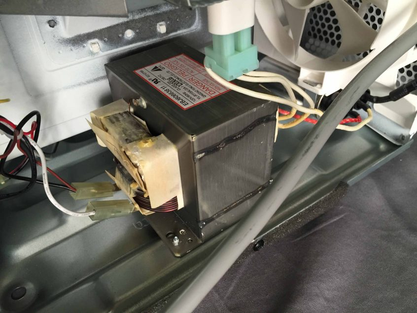 microwave not working fuse is blown