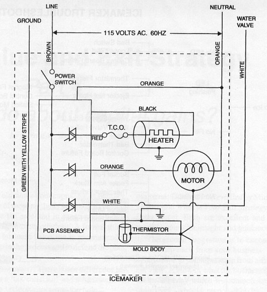maytag refrigerator thermostat schematic diagram leviton illuminated 3 way switch wiring whirlpool ice maker | get free image about