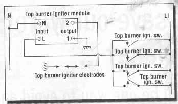 cooker hood wiring diagram wireless extender appliance repair revelation troubleshooting gas stove burner typical electric ignition