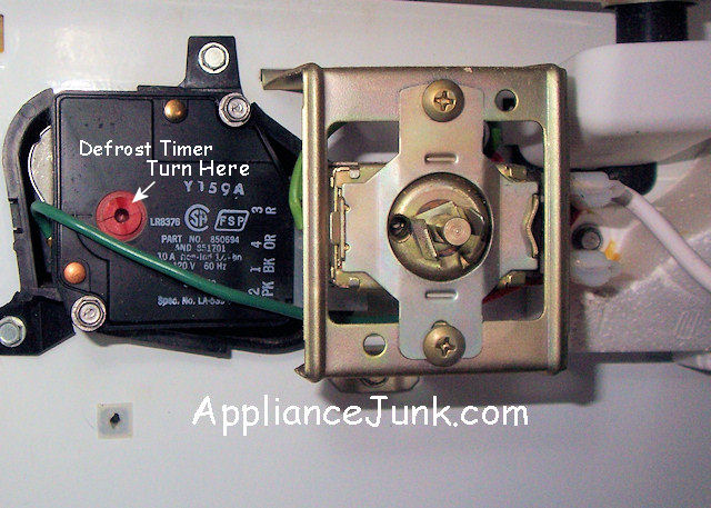 Whirpool Timer Defrost Replacement Appliance Repair Forum
