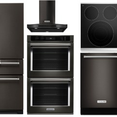 Kitchen Appliance Packages Stainless Steel Hardware For Cabinets Kitchenaid Repair New Mexico
