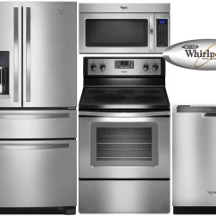 Stainless Steel Kitchen Packages Oxo Supplies Superior Appliance 5 Whirlpool