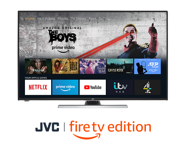 Умные 4K HDR LED телевизоры JVC Fire TV Edition