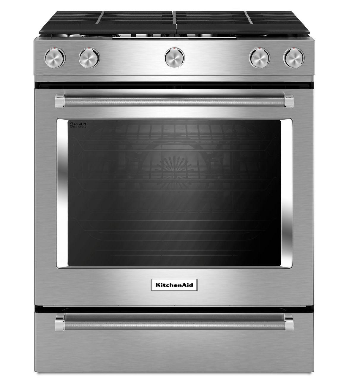 Beautiful KitchenAid 30 Inch 5 Burner ...