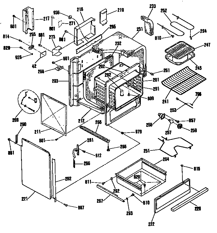 Ge Electric Oven Diagram