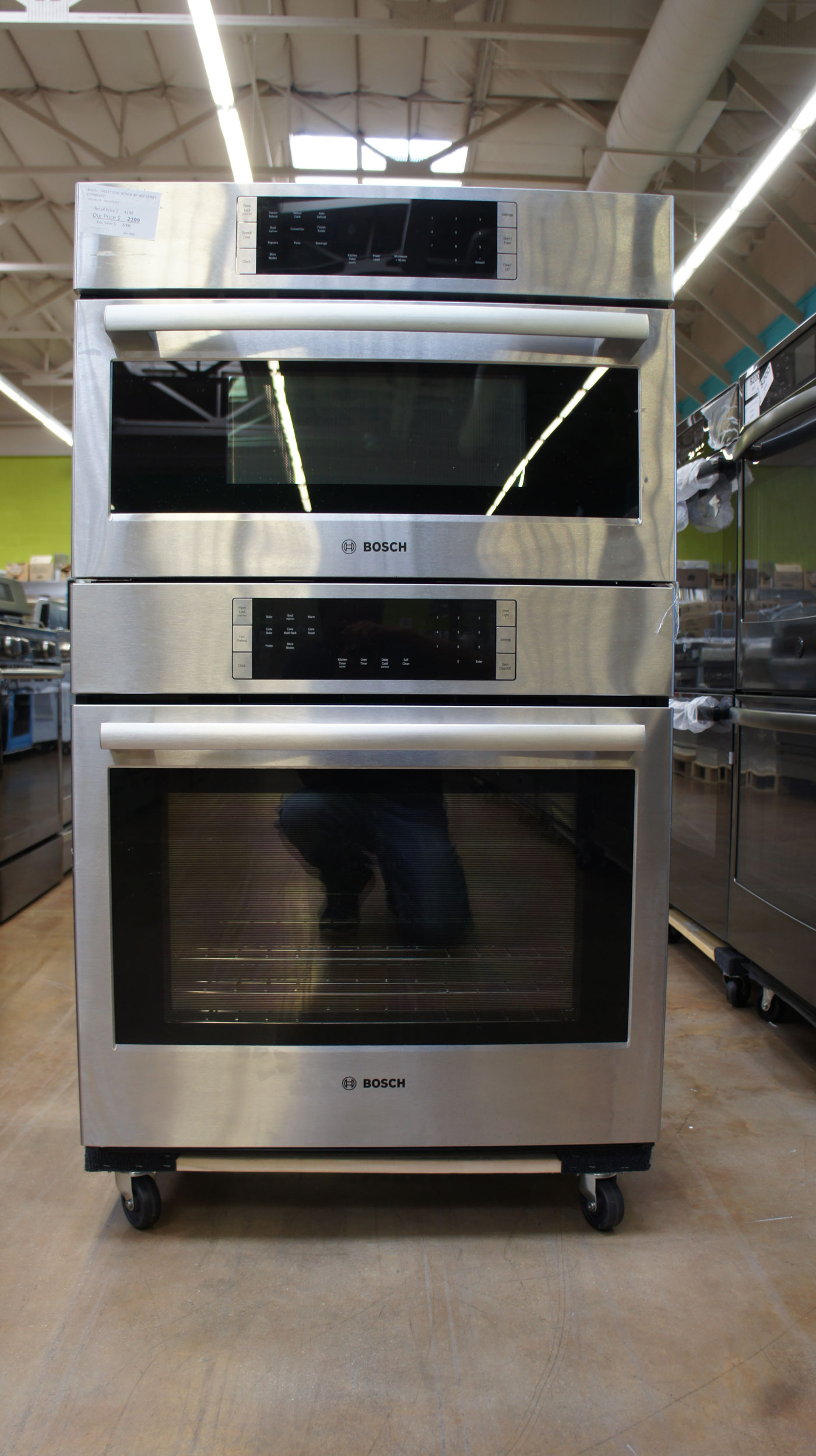 bosch hbl8752uc 30 combination wall microwave oven