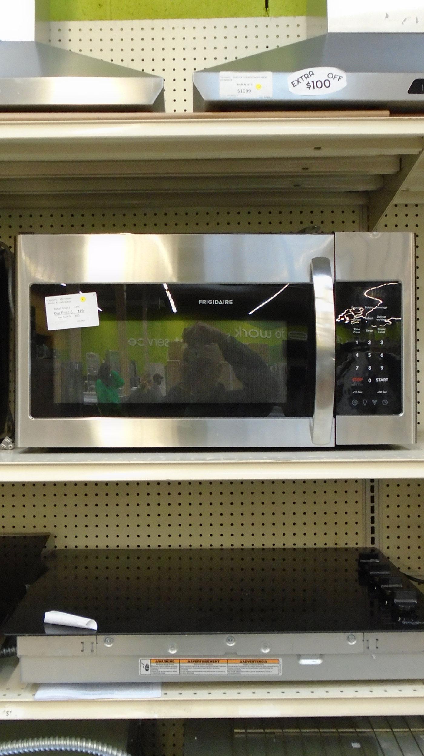 30 frigidaire lfmv1846vf 1 8 cu ft over the range microwave