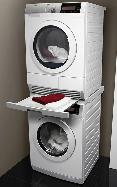 AEG ProTex Plus washer and dryer