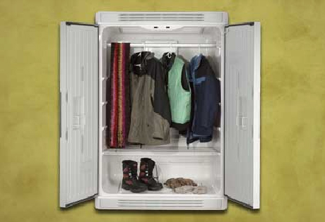 BreezeDry ambient drying cabinet