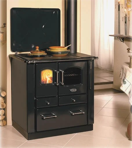 European Cooking Wood Burning Stoves From Sideros