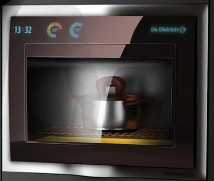 Futuristic kitchen appliances from De Dietrich Design Contest