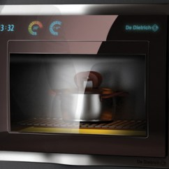 Bosch Kitchen Appliances Clock Futuristic From De Dietrich Design Contest