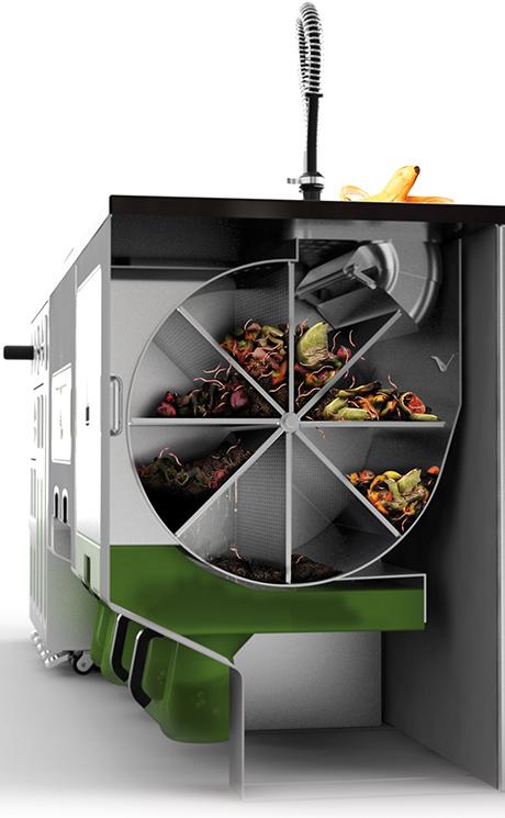 Ekokook  green kitchen of the Future by Faltazi Lab