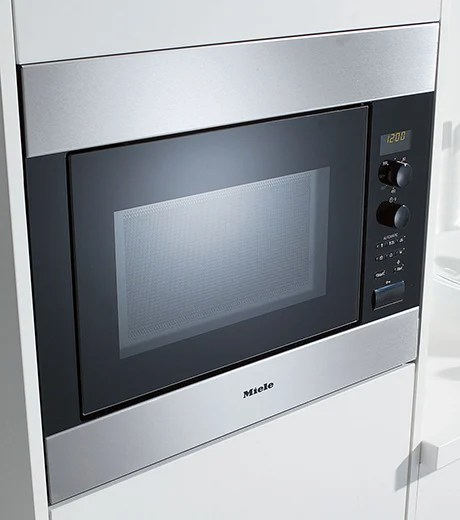 miele 24 built in microwave oven m 8260 1