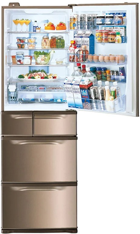 Multi Level Refrigerators With 6 Or 5 Doors
