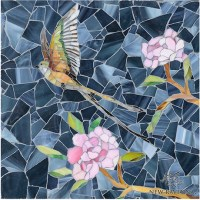 Sea Glass mosaic tile