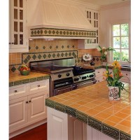 Recycled tile backsplash by Fireclay Tile