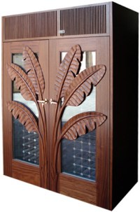 Custom wine cabinets from Vinotemp