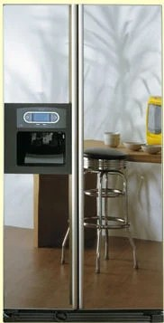 kitchen water dispenser country decor whirlpool american fridge freezer - side by with ...