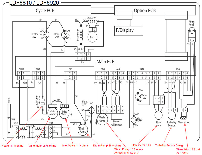 [DIAGRAM] Haier Washing Machine Circuit Diagram FULL