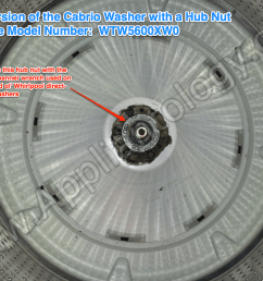 new version of the cabrio washer with a hub nut [ 1024 x 768 Pixel ]
