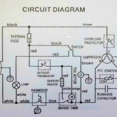 Simple Wiring Diagram Of Fridge 2001 Ford Econoline Radio Reading Diagrams: How The Defrost Cycle Works In A Danby Refrigerator - Samurai Appliance ...