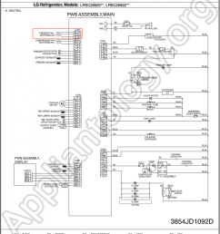 lg refrigerator schematics wiring diagrams scematic kenmore refrigerator schematic lg refrigerator lrsc26910 schematic diagram the appliantology [ 1022 x 1200 Pixel ]