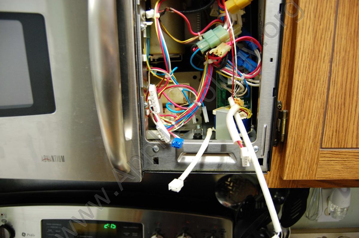 ge advantium microwave fuse the