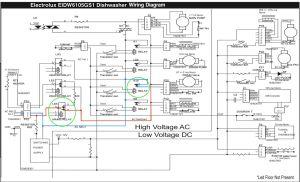Electrolux EIDW6105GS1 Dishwasher Wiring Diagram  The