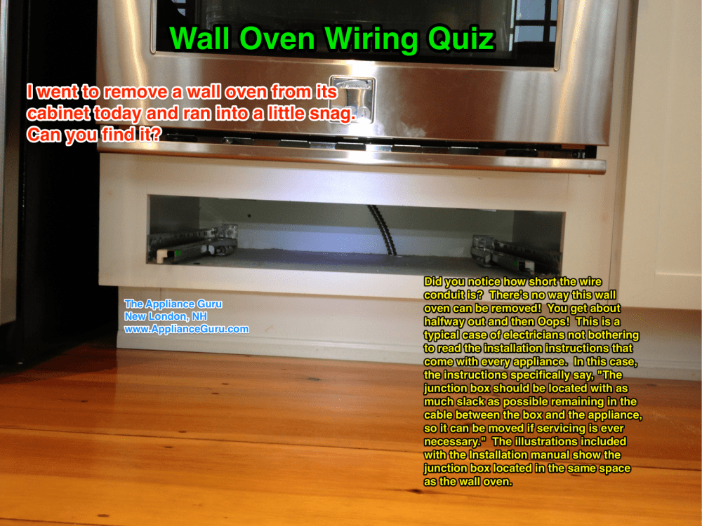 medium resolution of wall oven wiring fail the appliantology gallery appliantology maytag microwave oven wiring diagram wall oven wiring