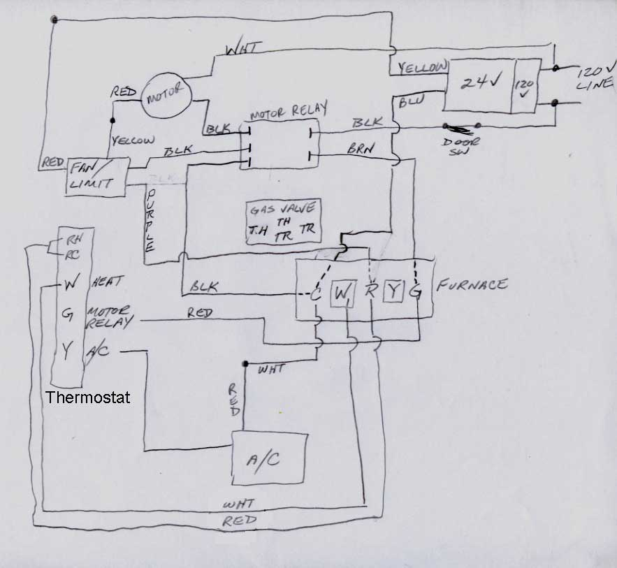 Comfort Maker Furnace Wiring Diagram - Wiring Diagram G11 on